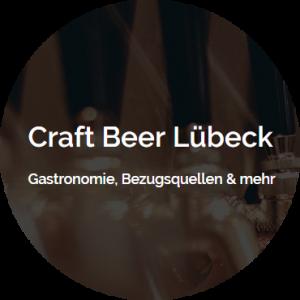 Craft Beer Lübeck - vorübergehendes Logo