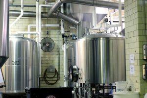 Eine Brauerei